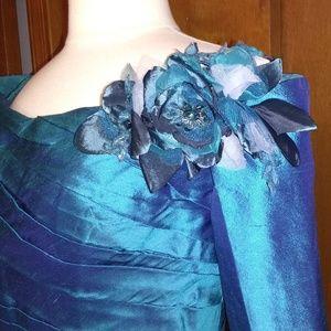 Ivonne D. for Mon Cheri silk dress 12